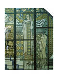 Paradise, Stained Glass Window Giclee Print by Kolo Moser