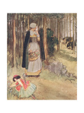 She Beheld the Old Physician in Quest of Roots and Herbs Giclee Print by Hugh Thomson
