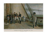 Napoleon on Board HMS Bellerophon Giclee Print by Sir William Quiller Orchardson
