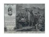 Amerigo Vespucci Giclee Print by Jan van der Straet