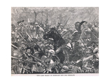 The Last Stand of Schwarz and His Germans 1487 Giclee Print by Henry Marriott Paget