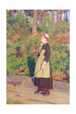 Mother Goose, C.1908 Giclee Print by Thomas Cooper Gotch