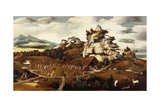 Landscape of West Indies, 1540 Giclee Print by Jan Mostaert