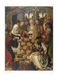 The Dormition of the Virgin Mary Giclee Print by Michael Wolgemut