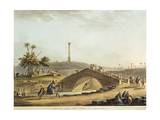 Egypt, Bridge over Alexandria Canal, 1804 Giclee Print by Luigi Mayer
