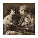 The Union of Drawing and Colour Giclee-trykk av Guido Reni