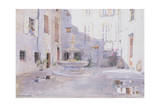 After Rain, Tourrette, 1993 Giclee Print by Lucy Willis