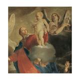 Madonna of Mount Carmel with St Simon Stock Giclee Print by Giuseppe Maria Crespi
