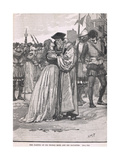 The Parting of Sir Thomas More and His Daughter 1534 Giclee Print by Henry Marriott Paget