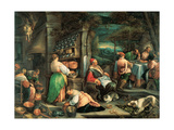 The Supper at Emmaus, 1576 Giclee Print by Jacopo Bassano
