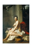 Susanna Having Bath Giclee Print by Jean-Baptiste Santerre