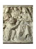 Adoration of the Magi, Panel from the Pulpit of the Baptistery of St John, 1255-1260 Giclee Print by Nicola Pisano