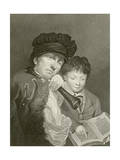 The Deaf School Master Giclee Print by Henry Hoppner Meyer