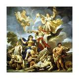 Allegory of the Fortress Lámina giclée por Luca Giordano