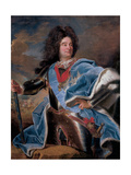 Portrait of the Duc De Villars Giclee Print by Hyacinthe Rigaud