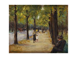 In the Tiergarten, Berlin, C.1920 Giclee Print by Max Liebermann