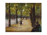 In the Tiergarten, Berlin, C.1920 Giclee Print by Max Liebermann