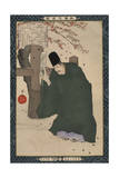 Sugawara Michizane, from the Series 'Instructive Models of Lofty Ambitions' Giclee Print by Kobayashi Kiyochika