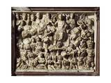 The Last Judgment, Panel on the Pulpit of the Baptistery of St John, 1255-1260 Giclee Print by Nicola Pisano