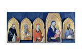 Saint Domenic's Altarpiece Giclee Print by Simone Martini