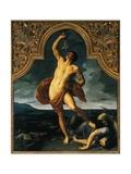 Victorious Samson Giclee-trykk av Guido Reni