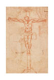 Christ on the Cross Giclee Print by  Michelangelo Buonarroti