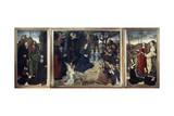 Portinari Triptych, 1480-1483 Giclee Print by Hugo van der Goes