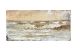 Study for Stormy Sea Giclee Print by Giuseppe De Nittis