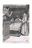 Trial of Buckingham 1626 Giclee Print by Henry Marriott Paget