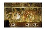 Pope Alexander III's Triumphal Ride into Rome, Scene from Stories of Alexander III Giclee Print by Spinello Aretino
