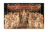 The Majesty, 1315 Giclée-tryk af Simone Martini