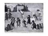 The Christmas Invitation - a Hoax, 1900 Giclee Print by Louis Wain