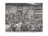 The Acting of One of Shakespeares Plays in the Time of Elizabeth I Giclee Print by Henry Marriott Paget