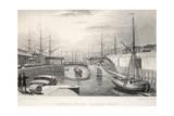 London Docks Giclee Print by Thomas Hosmer Shepherd