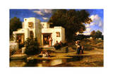 A Turkish House Giclee Print by Narcisse Virgile Diaz de la Pena
