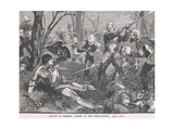 Battle of Barnet: Death of Warwick the King Maker 1471 Giclee Print by Henry Marriott Paget
