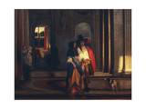 Leaving for Walk Giclee Print by Pieter de Hooch