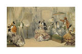Soirees Parisiennes: Meeting of Artists Giclee Print by Henri De Montaut
