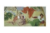 Vertumnus and Pomona, 1519 - 1521 Giclee Print by Jacopo Pontormo