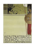 First Exhibition of the Viennese Secession, 1898 Giclee Print by Gustav Klimt