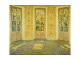 Windows on the Parc; Fenetres Sur Le Parc, 1938 Giclee Print by Henri Eugene Augustin Le Sidaner