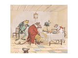 """Pray, Miss Mouse, Will You Give Us Some Beer"" Giclee Print by Randolph Caldecott"