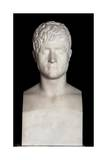Bust of Felix Baciocchi Giclee Print by Lorenzo Bartolini
