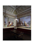 Frescoes Giclée-tryk af Matteo Rosselli