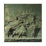 First Mens' Work, Panel Giclee Print by Lorenzo Ghiberti