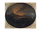 Eruption of Vesuvius Giclee Print by Michael Wutky