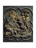 Nativity, Panel Giclee Print by Lorenzo Ghiberti