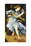 Announcing Angel, Circa 1525 Giclee Print by Lorenzo Lotto