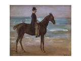 A Rider on the Shore Giclee Print by Max Liebermann