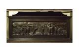 San Zenobi's Tomb Giclée-tryk af Lorenzo Ghiberti